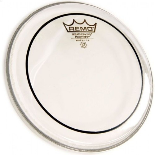 REMO 18 PIN STRIPE CLEAR BASS DRUM