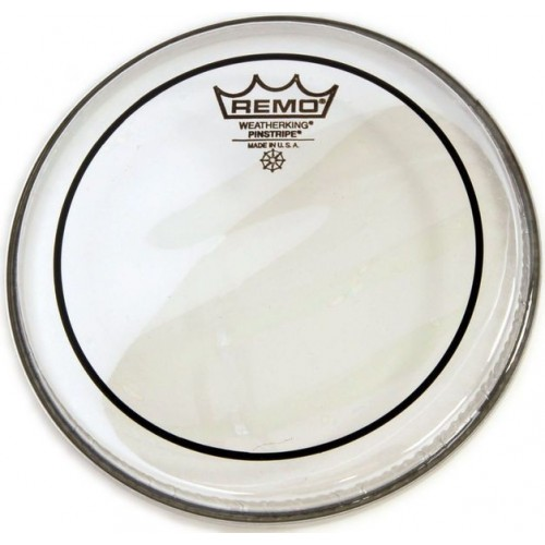REMO 28 PIN STRIPE CLEAR BASS DRUM