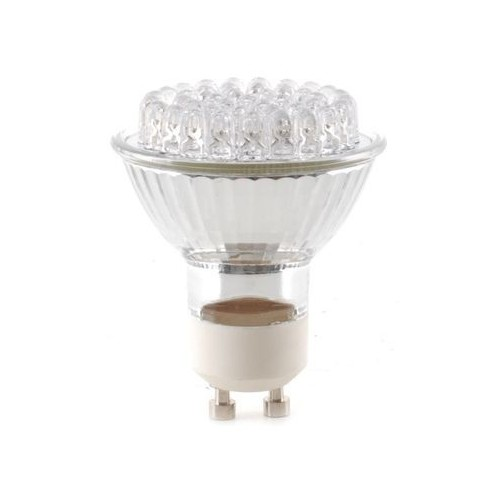 STAIRVILLE GU-10 LED LAMP 42 LED WARM WH