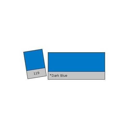 Lee Colour Filter 119 Dark Blue
