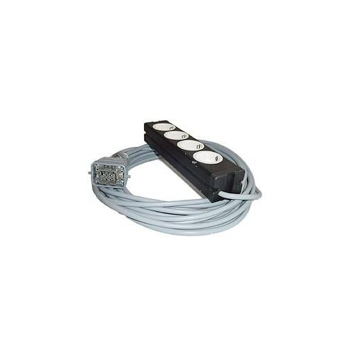 Stairville Multicable 10m 6H - 4 Sockets