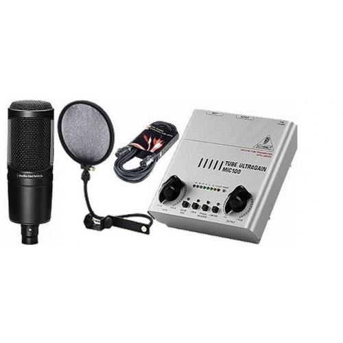 Audio Technica AT2020 set