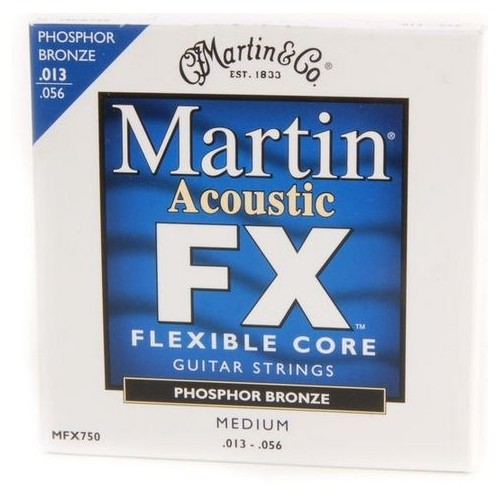 Martin Guitars FX750 Phosphor Bronce Medium