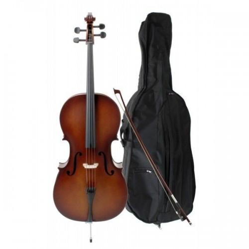 Classic Cantabile Student Cello 3/4 Set