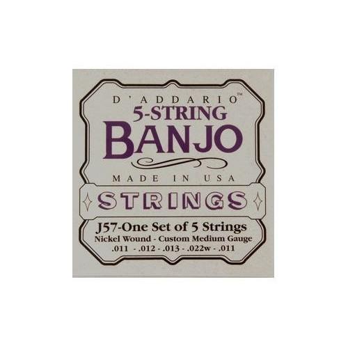 Daddario J57 5-String Banjo