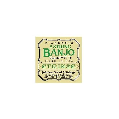 Daddario J60 5-String Banjo