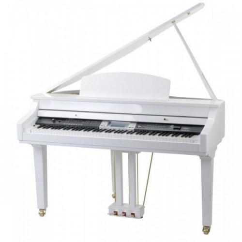 Classic Cantabile GP-500 Digital Piano White High Polish