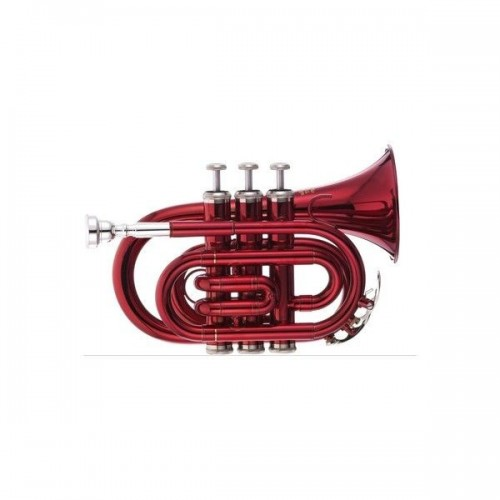 Thomann TR 5 Red Bb-Pocket Trumpet