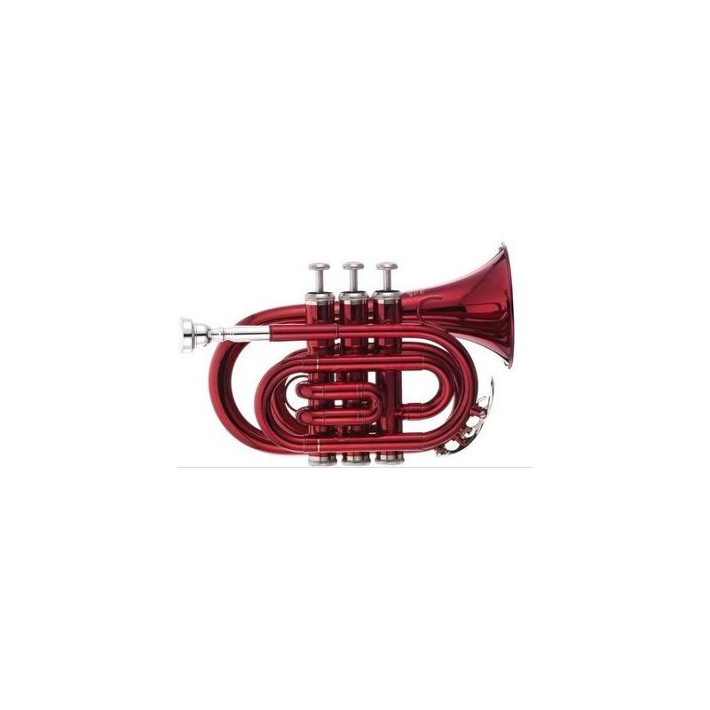 Thomann TR 5 Red Bb-Pocket Trumpet
