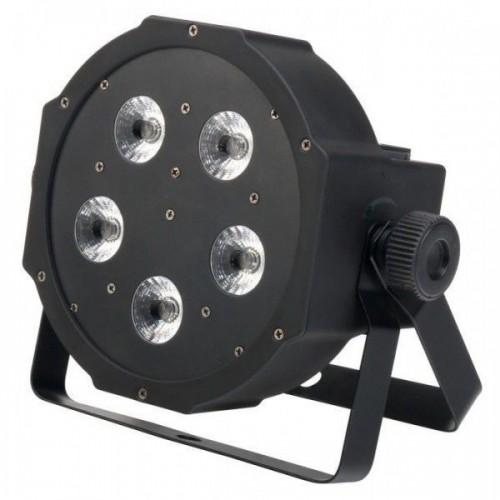 Showlite FLP-5x9W flatline panel LED spotlight RGB