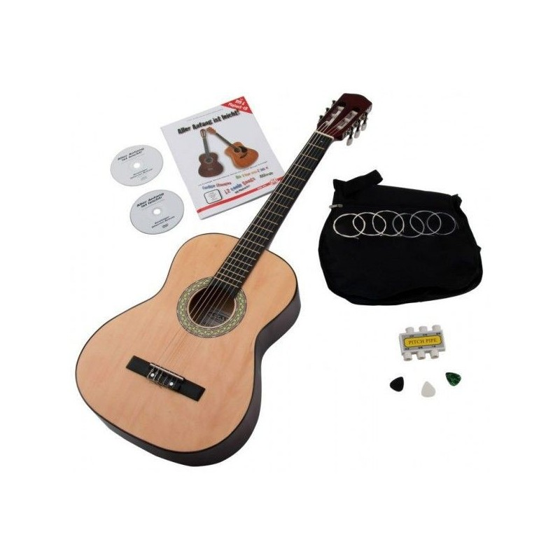 Classic Cantabile Acoustic Series AS-851 3/4 classical guitar starter set