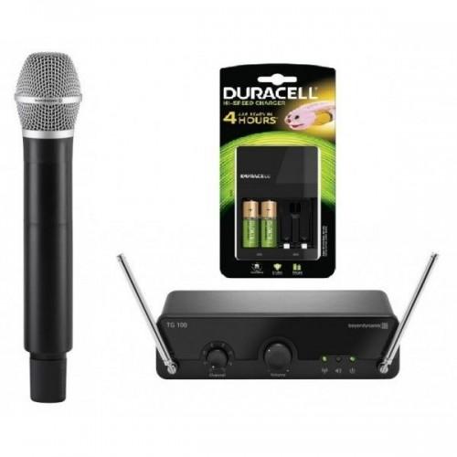 Beyerdynamic TG 100 H-Set Vocal 174-184 MHz Duracell