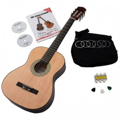 Classic Cantabile Acoustic Series AS-851 7/8 classical guitar starter set