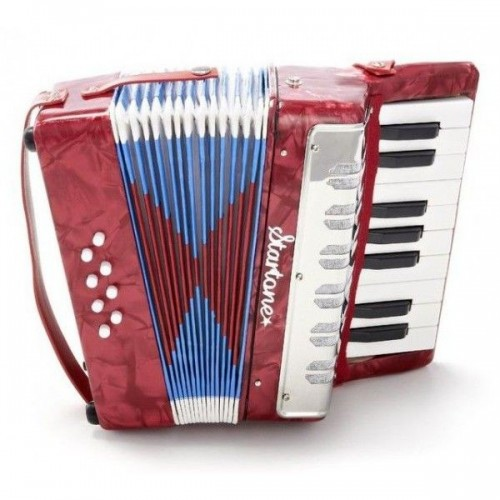 STARTONE HELENE ACORDEON RED