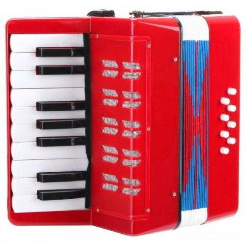 Classic Cantabile Bambino childrens accordion red