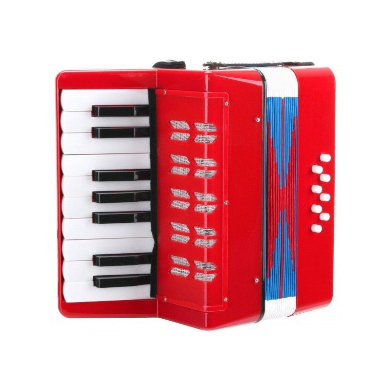 Classic Cantabile Bambino childrens accordion red