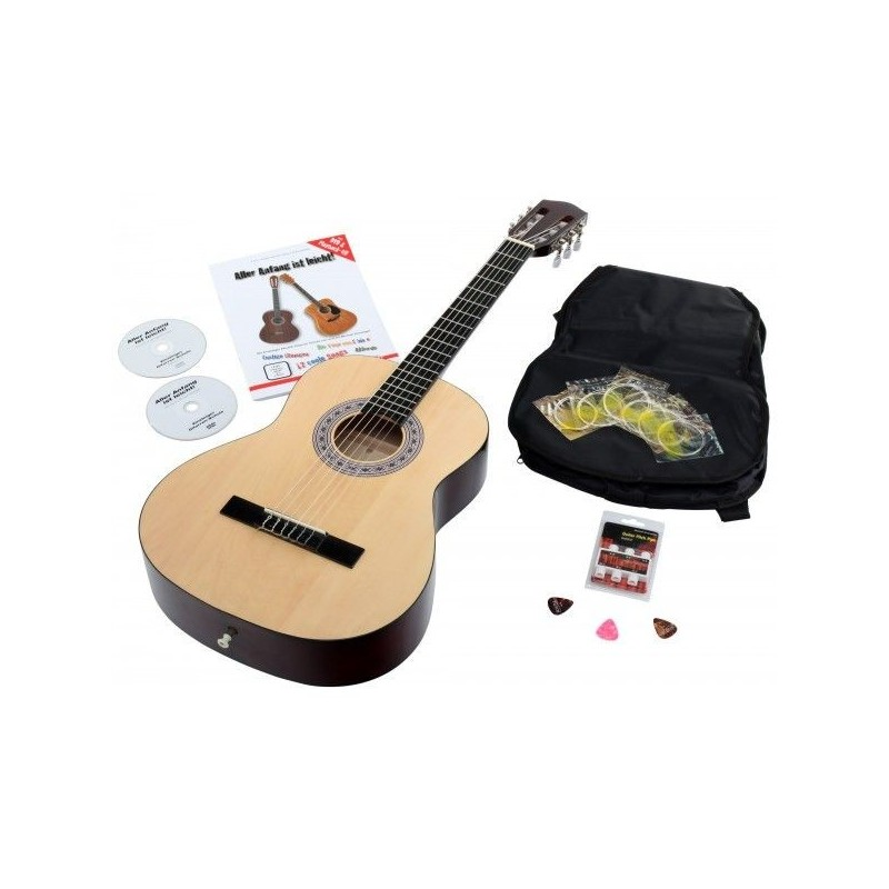 Calinda Benita 7/8 NA Starter set chitara