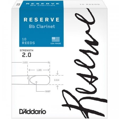 DAddario Bb Woodwinds Reserve Clarinet 20