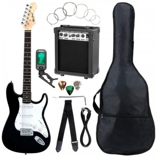 McGrey Rockit Guitar ST-Complete Black