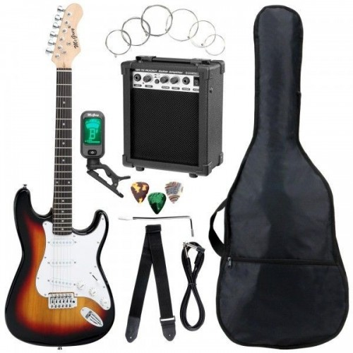 McGrey Rockit Guitar ST-Complete Sunburst