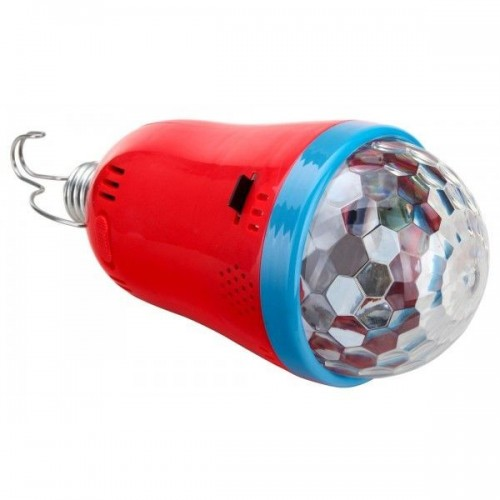 Showlite Party Rebel E27B-5W LED RGB Light Effects with SD Card