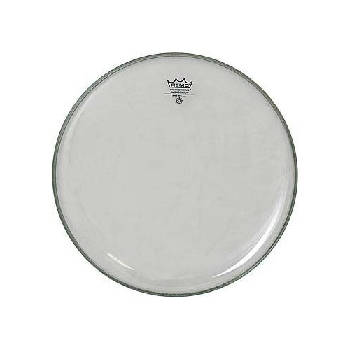 REMO 22 AMBASSADOR CLEAR BASS DRUM