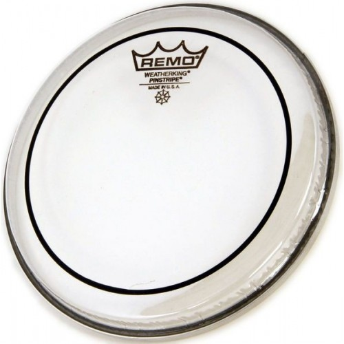 REMO 22 PIN STRIPE CLEAR BASS DRUM
