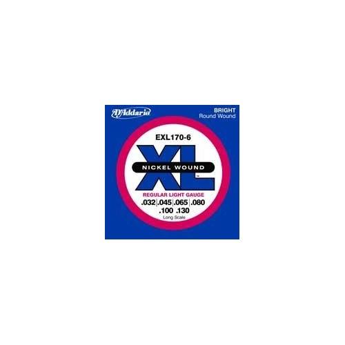 Daddario EXL170-6