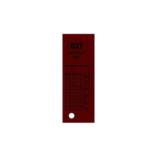 Q-Max Colour Filter 027 Medium Red