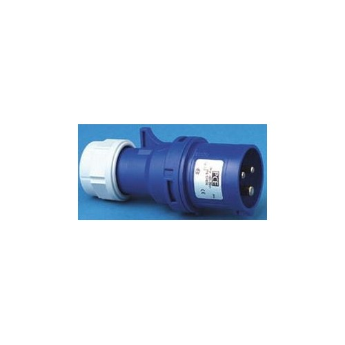 Jager CEE Plug 16A Blue
