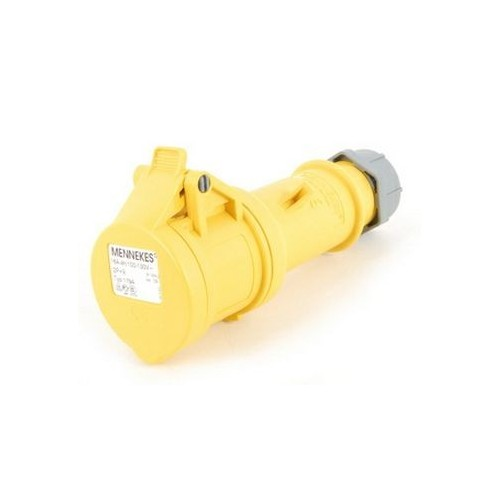 Mennekes CEE Plug Female 3 Pole Yellow