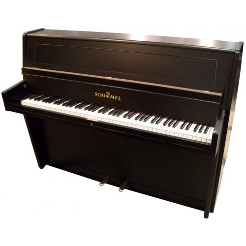 Schimmel Piano used 1957 Black