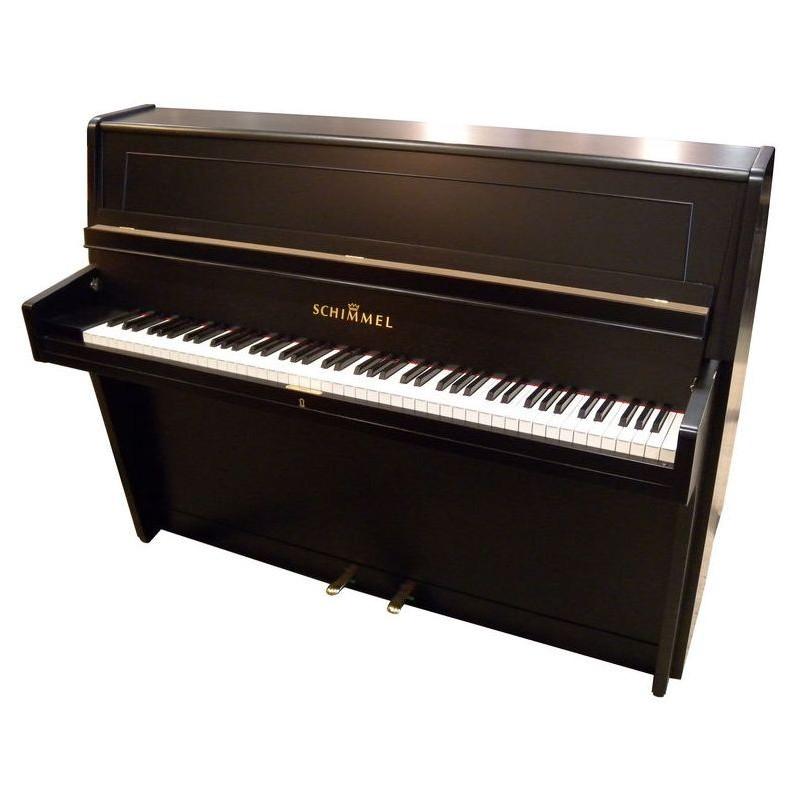 Schimmel Piano used 1957 Black