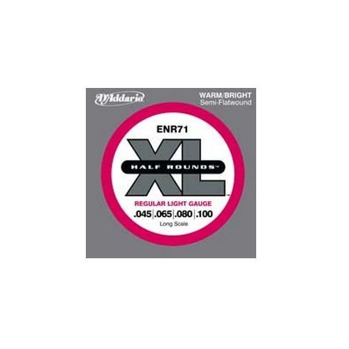 Daddario ENR71 Halfround Bass Strings