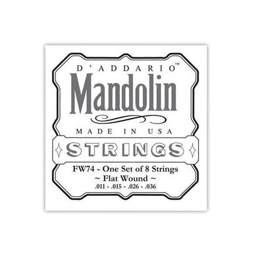 Daddario FW74 Mandoline Flatwound