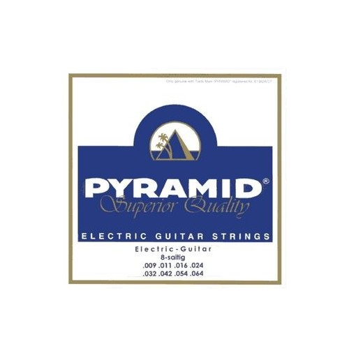 Pyramid 8 String Nickel Set
