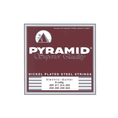 Pyramid 8 String Steel Set