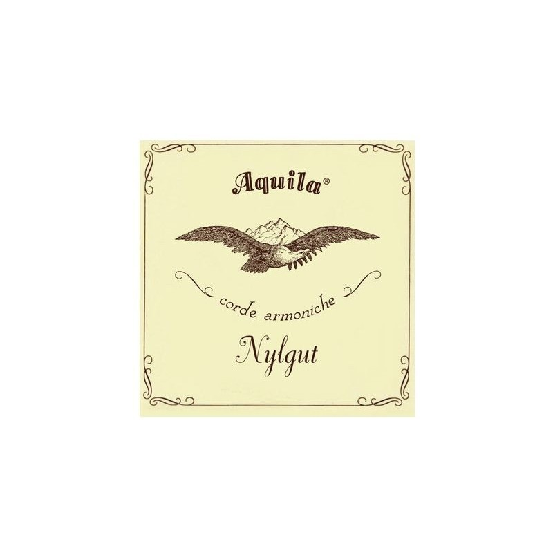 Aquila Corde Baritone Ukulele Nylgut Set
