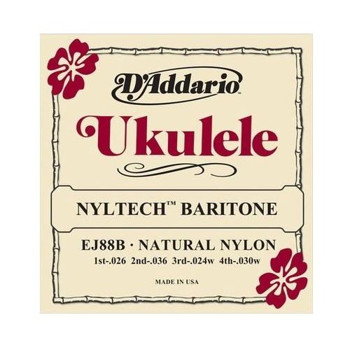 Daddario EJ88B Nyltech Baritone Ukulele