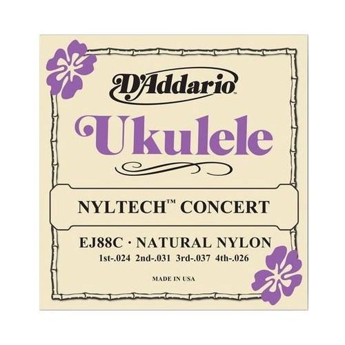 Daddario EJ88C Nyltech Concert Ukulele