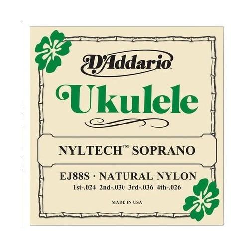 Daddario EJ88S Nyltech Soprano Ukulele