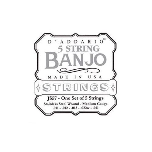 Daddario JS57 5-String Banjo Set