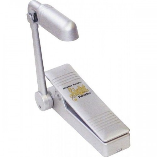 Mighty Bright Sight Reader Stand Light Silver