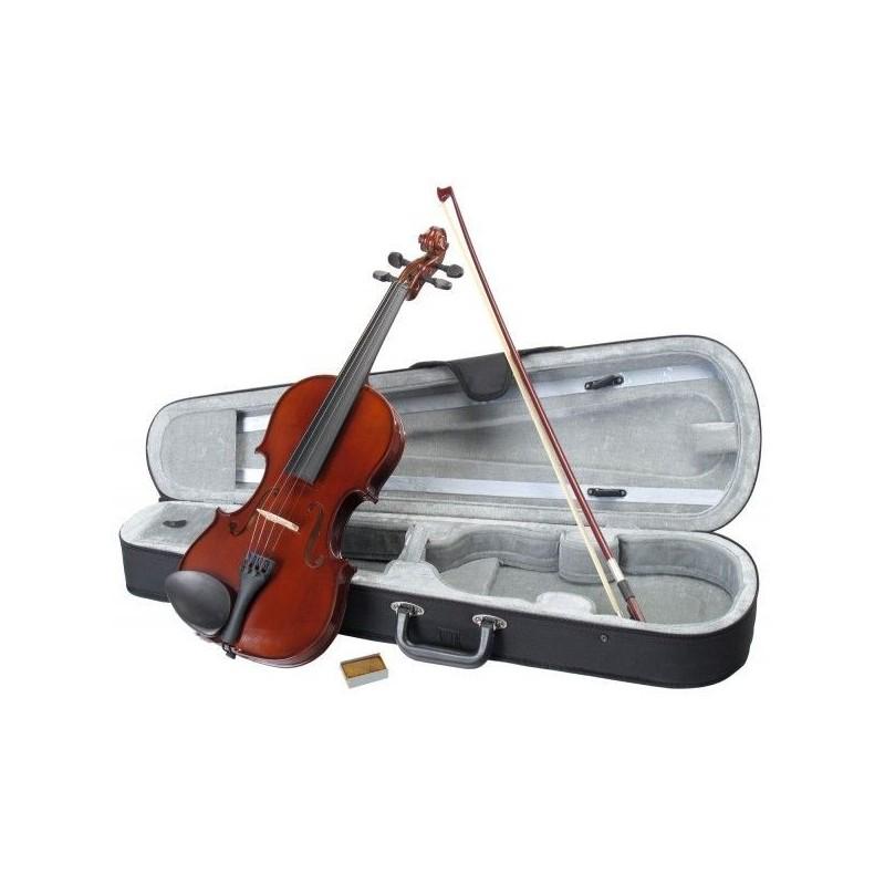Classic Cantabile Student Violin 4/4 Set Rosin