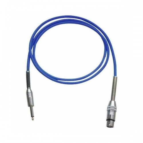 Bespeco IROMA100P Blue Cablu Microfon