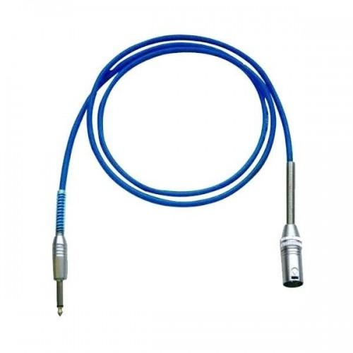 Bespeco IROMM300P Blue Cablu Microfon