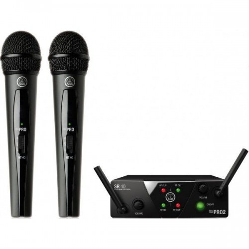 AKG WMS 40 MINI DUAL VOCAL SET US45A/c