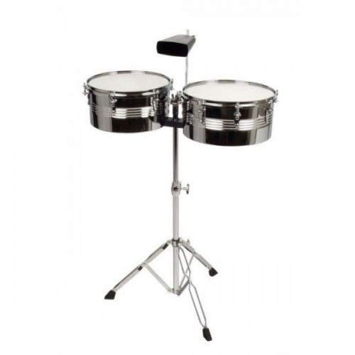 """XDrum Timbales Set 13"""" 14"""" incl. cowbell"""