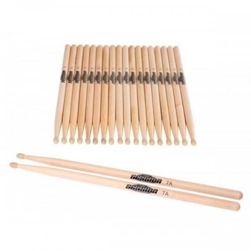 XDrum Drum Sticks 7A nylon tip 10 pairs