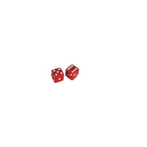 Allparts Dice Poti Knobs Red